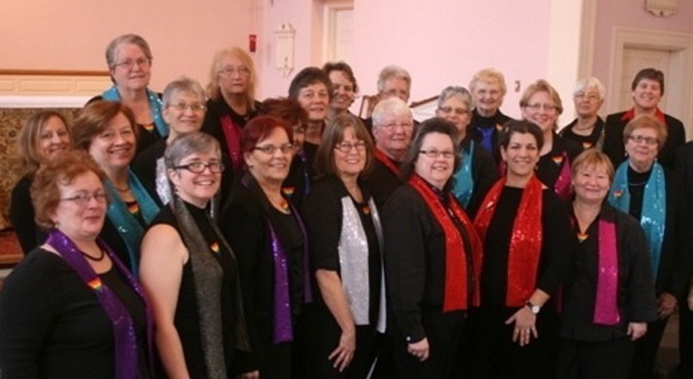 Women Singing Out! will present two 15th anniversary concerts in Portsmouth, N.H., on Saturday and Sunday.