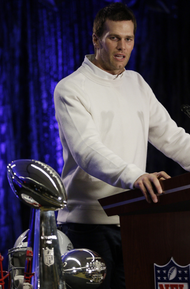 New England Patriots quarterback Tom Brady won his third Super Bowl MVP and his fourth Super Bowl title on Sunday night. His joins Terry Bradshaw and Joe Montana as four-time Super Bowl winning quarterbacks.