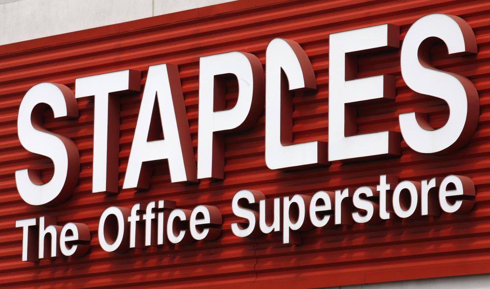 Staples said it will realize at least $1 billion in annual cost savings by the third full fiscal year after the transaction is complete. The Associated Press
