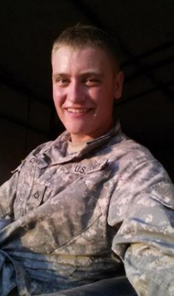 Spc. Casey Andrew Chapman was an artillery mechanic and a 2012 graduate of Hall-Dale High School in Farmingdale.
