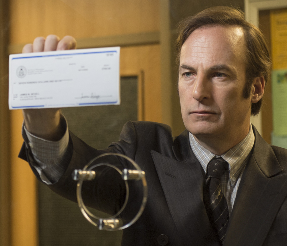 """Bob Odenkirk portrays Saul Goodman in """"Better Call Saul,"""" an AMC-TV series that officials hope could spark tourism in Albuquerque, N.M."""