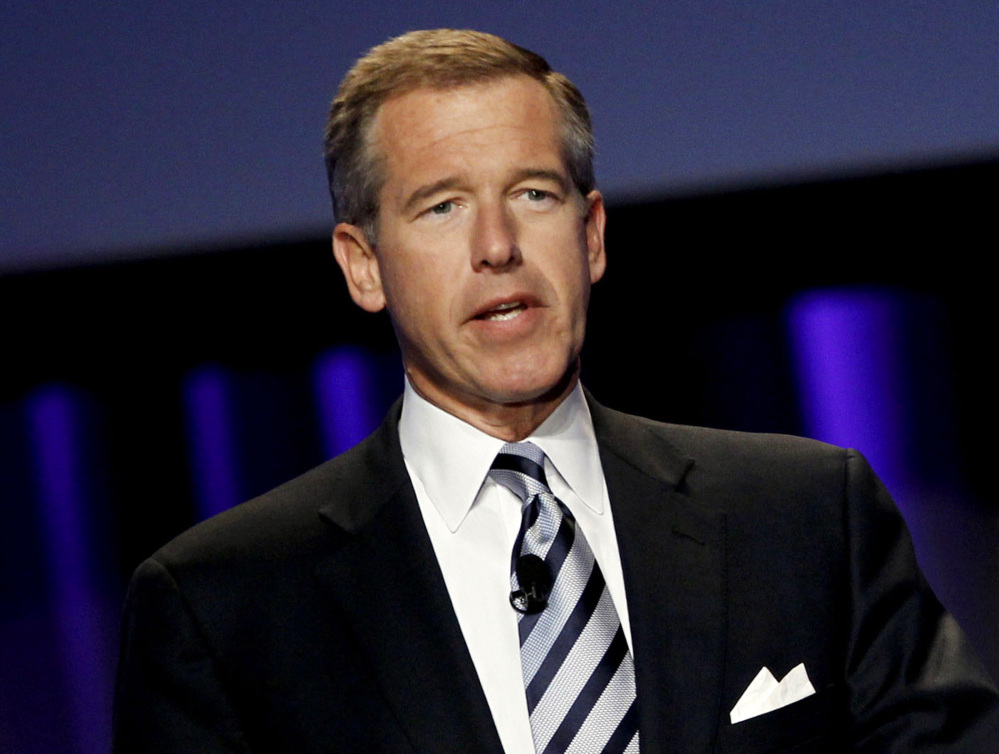 Brian Williams will no longer be the anchor of NBC's evening newscast. He's moving to MSNBC.