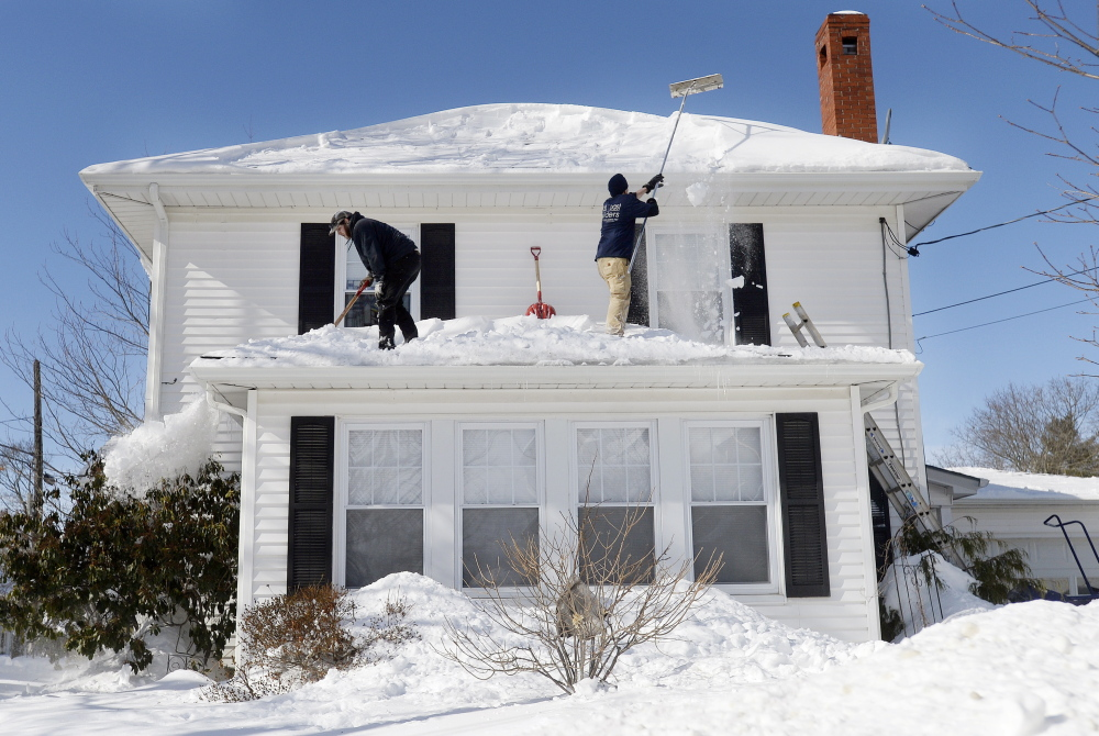 With Snow Piling Up Is It Time To Hit The Roof