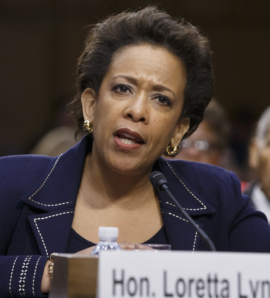 Loretta Lynch is President Obama's nominee for attorney general.