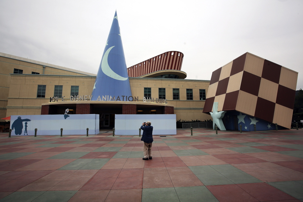 The Roy E. Disney Animation Building in Burbank, Calif., is getting an upgrade over the next 16 months. Mel Melcon/Los Angeles Times/TNS