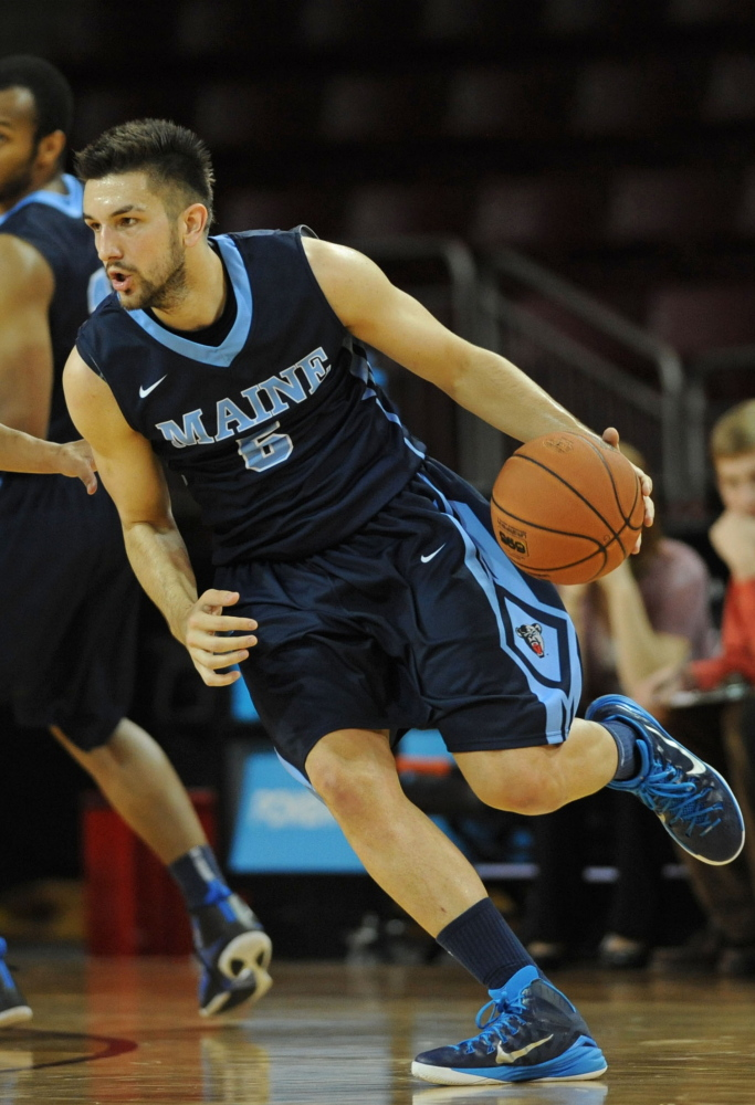 Zarko Valjarevic says the UMaine men's basketball team hasn't given up hope of making a deep run in the America East tournament, despite its 3-21 record.
