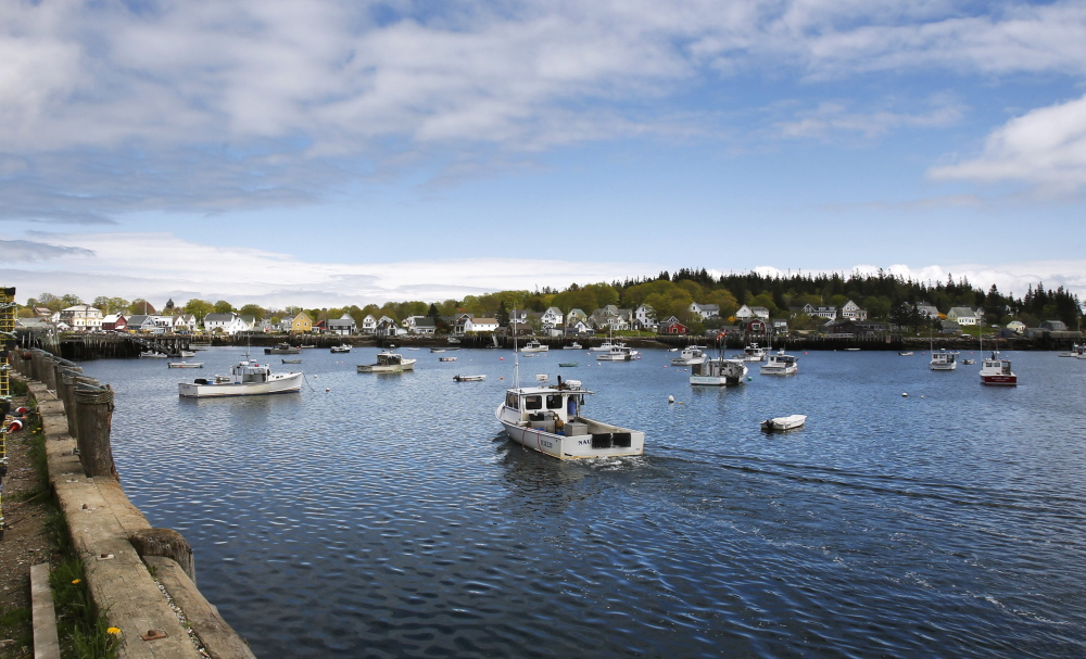 Home to many self-employed lobstermen, Vinalhaven is among the Maine coastal communities where the rate of enrollment in the Affordable Care Act was comparatively high.
