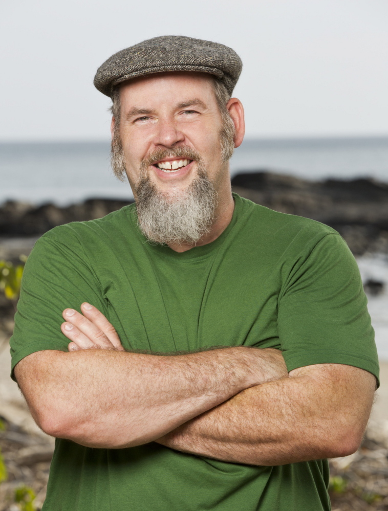 "Dan Foley of Gorham believes his mastery of blarney is perfectly suited to the TV show, ""Survivor."" He can be seen competing to win $1 million beginning Feb. 25. CBS Broadcasting Inc."