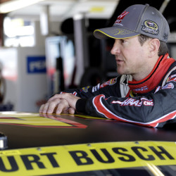 "Kurt Busch was suspended indefinitely by NASCAR after a judge said the driver almost surely strangled and beat an ex-girlfriend last fall and there is a ""substantial likelihood"" of more domestic violence by him in the future."