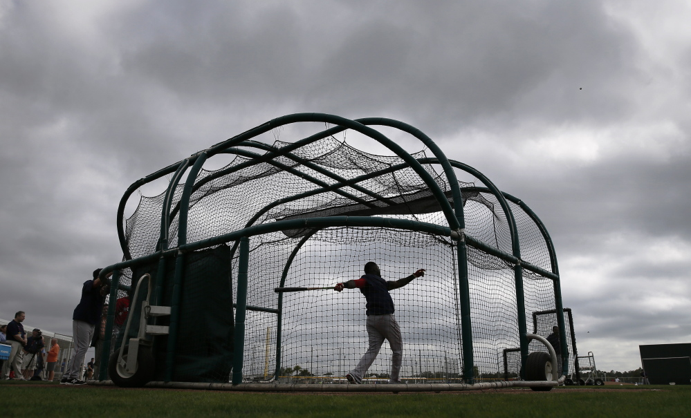 The outlook for the Boston Red Sox is anything but gloomy this spring, especially after they opened the checkbook to bring in costly players during an offseason in which the New York Yankees decided not to spend.