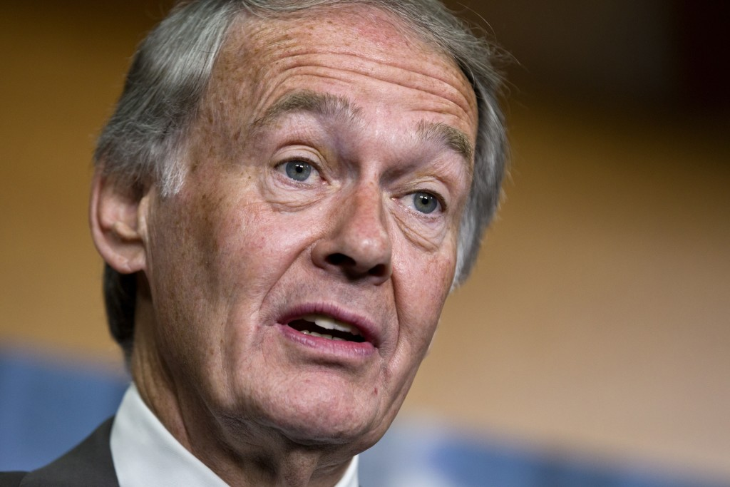 Sen. Edward Markey, D-Mass. speaks on Capitol Hill in 2012. According to an analysis of information provided to Markey by manufacturers, automakers are cramming cars with wireless technology, but they have failed to adequately protect those features against the real possibility that hackers could take control of vehicles or steal personal data.