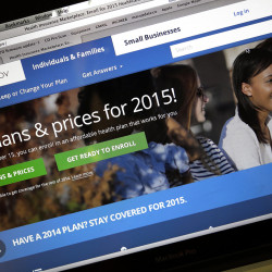 About 800,000 HealthCare.gov customers got the wrong tax information from the government, the Obama administration disclosed Friday, and officials are asking those affected to delay filing their 2014 returns. The Associated Press