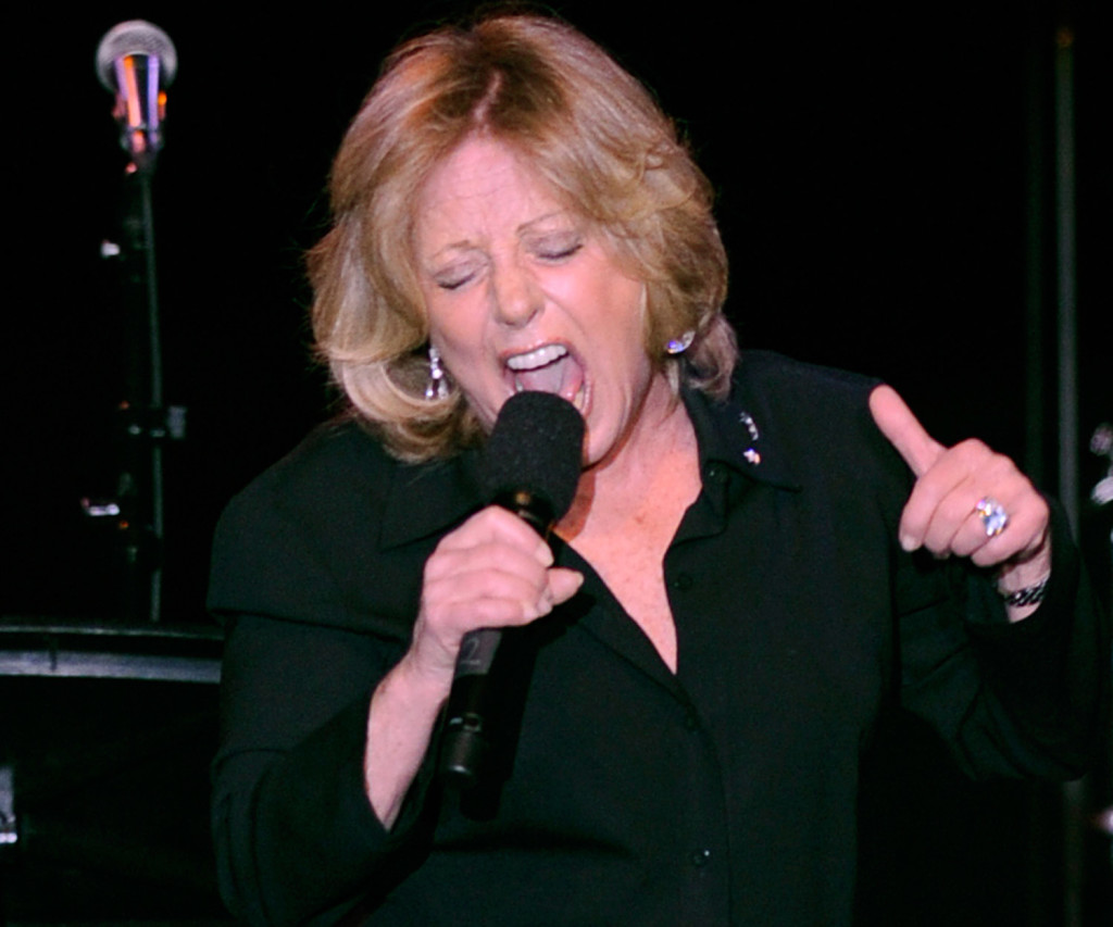 In this 2008 file photo, Lesley Gore performs at the ASCAP musical tribute which honored Quincy Jones with the ASCAP Pied Piper Award, in New York. The Associated Press