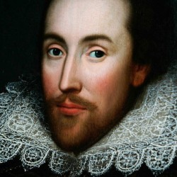 This portrait of William Shakespeare is believed to be almost the only authentic image of the writer made from life. There are very few likenesses of Shakespeare, who died in 1616.