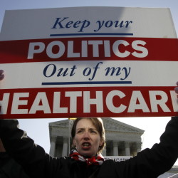 Opponents of Obamacare, such as Amy Brighton of Medina, Ohio, may be hoping that the Supreme Court deals the Affordable Care Act a crippling blow when it gets around to ruling on a challenge that comes before the justices on Wednesday.