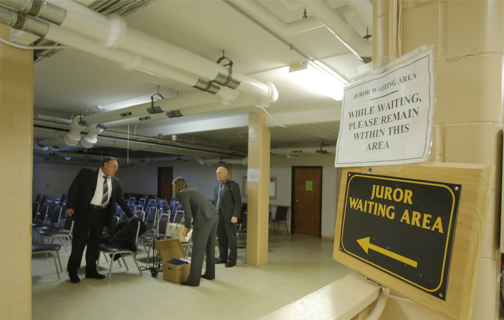 Deficiencies in the York County Court House in Alfred have created a significant backlog of criminal cases there and an even greater backlog of civil cases.