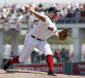 Justin Masterson is back with the Red Sox after playing in Cleveland and St. Louis, and could be part of the rotation.