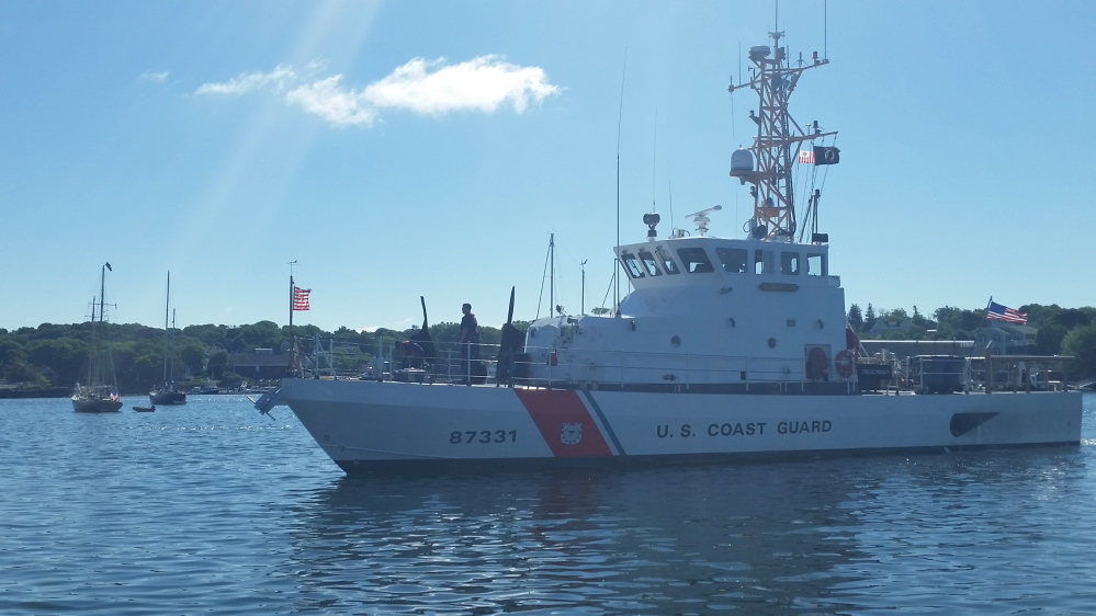 The officer in charge of the USCG Cutter Moray, U.S. Coast Guard coastal patrol boat based in Jonesport, has been relieved of his command pending an investigation.