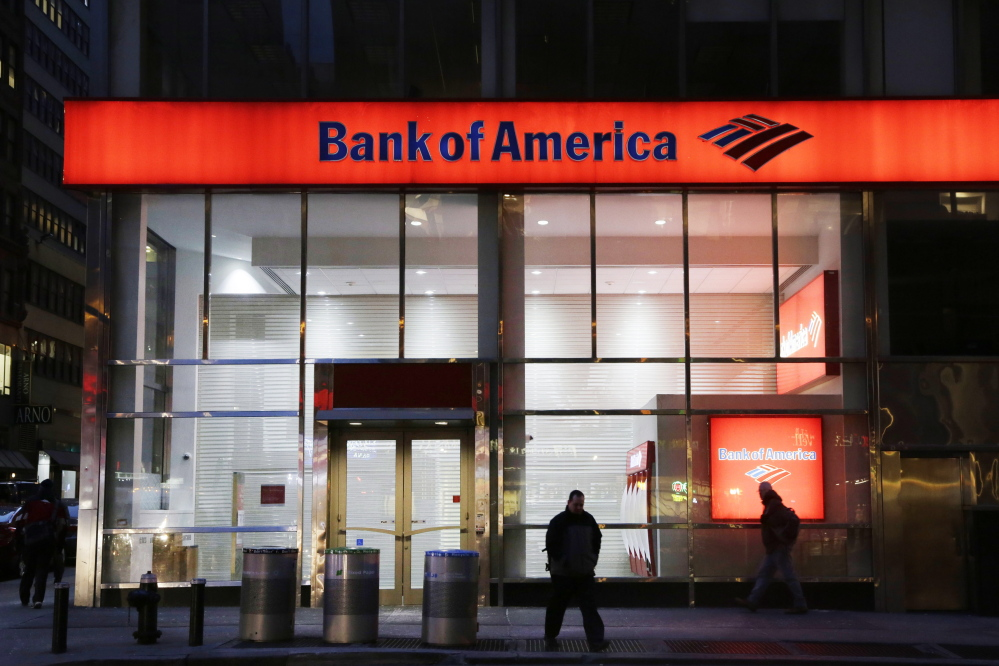 The Federal Reserve is ordering Bank of America to revise its plans for increasing dividends or buying back stock, saying there are gaps in its risk planning. The Associated Press