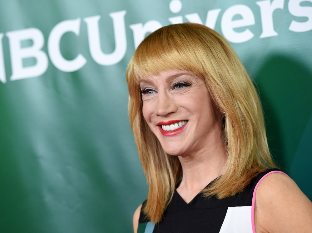 """Kathy Griffin writes that while she can appreciate some over-the-top humor, she has to stop short of what's expected on the TV show """"Fashion Police."""""""