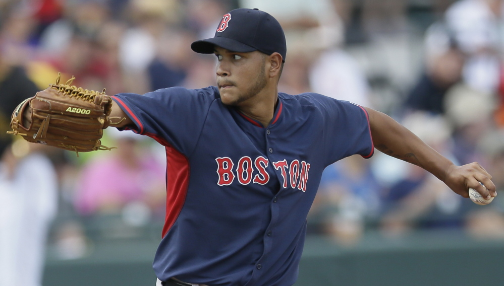 Eduardo Rodriguez was once a top prospect with the Orioles and is now proving he deserves that tag with the Red Sox, who acquired him in a trade.