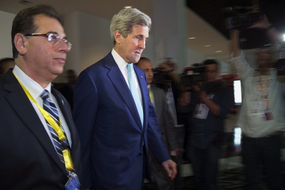 U.S. Secretary of State John Kerry says he would be willing to talk with Syrian President Bashar Assad to stem that nation's violence.