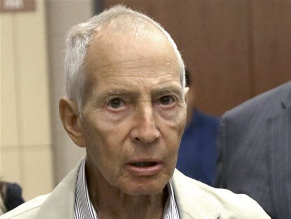 Real estate heir Robert Durst was arrested in New Orleans on an extradition warrant from Los Angeles on Saturday.