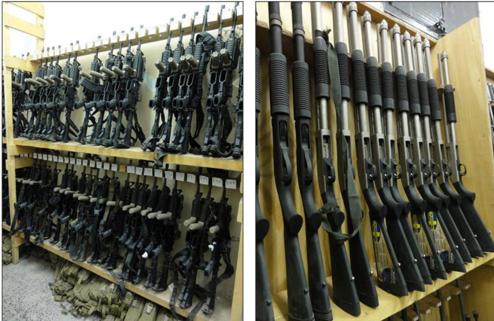 Pentagon officials admit they can do little to prevent weapons, like these firearms supplied to Yemen, from falling into the wrong hands. And firearms aren't the only items in question. The U.S. also supplied Yemen with patrol boats, vehicles and other equipment.