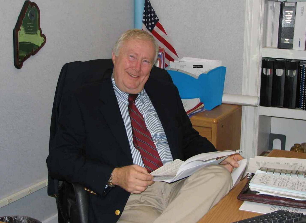 John Bubier, Biddeford's city manager, plans to step down from the job after a decade, but continue to work part time on economic development.