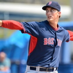 Boston's Henry Owens, who had a tough spring training stint on Thursday, is regarded as one of the team's top prospects. Owens, 21, was 14-4 with the Portland Sea Dogs in 2014 before his promotion to Pawtucket.