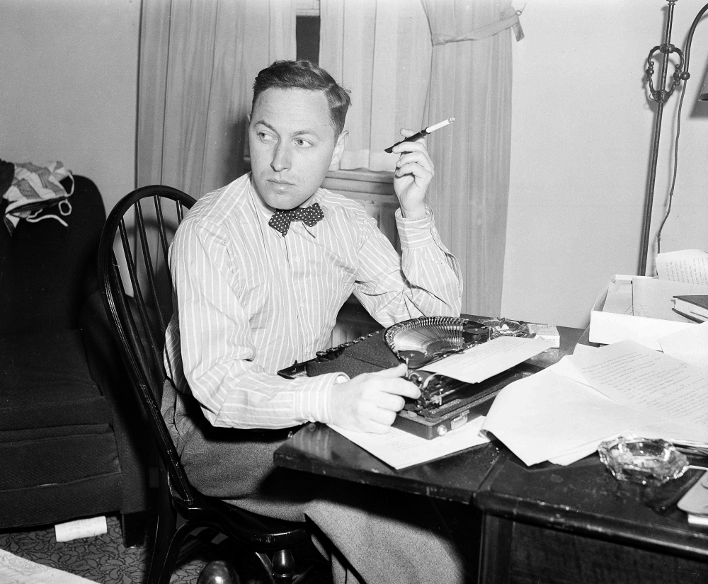 """Playwright Tennessee Williams' story """"The Eye That Saw Death,"""" possibly written when he was in high school, will appear in the spring issue of The Strand Magazine."""