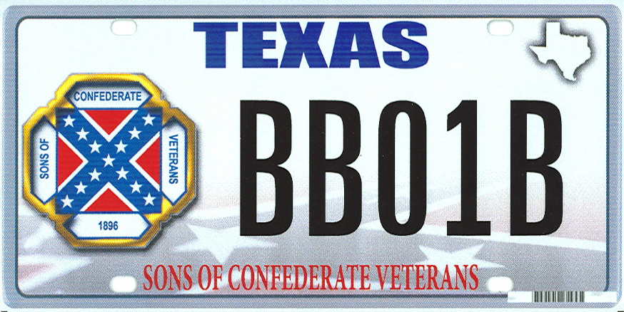 The Supreme Court will hear arguments Monday on Texas officials' refusal of a license plate proposed by the Sons of Confederate Veterans. Officials feared it was racially charged.
