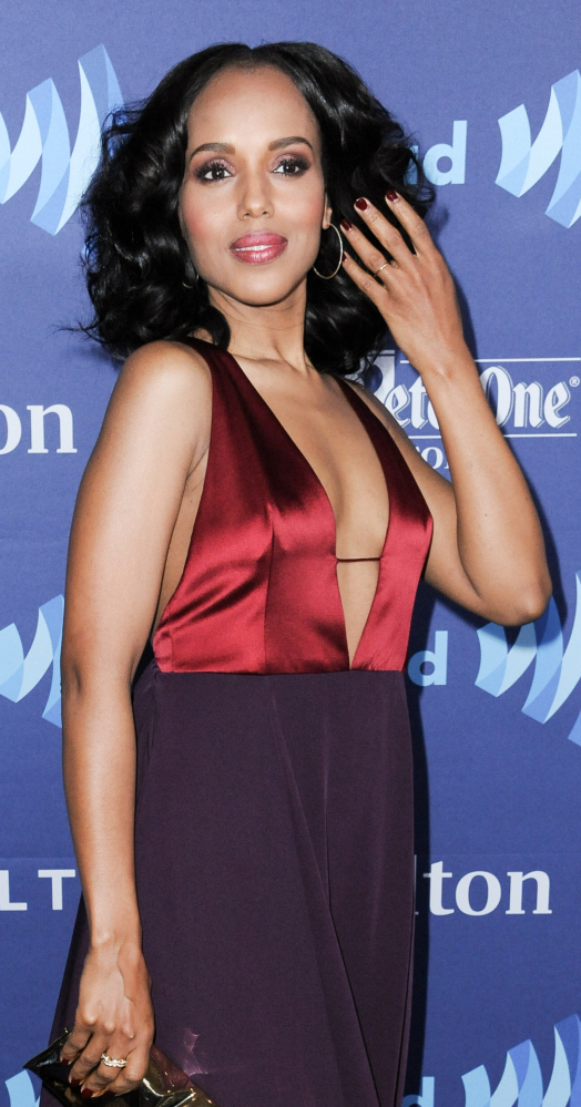 Kerry Washington was among those honored by GLAAD on Saturday.