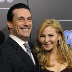 Jon Hamm has the support of his longtime partner Jennifer Westfeldt in his battle against alcohol addition.