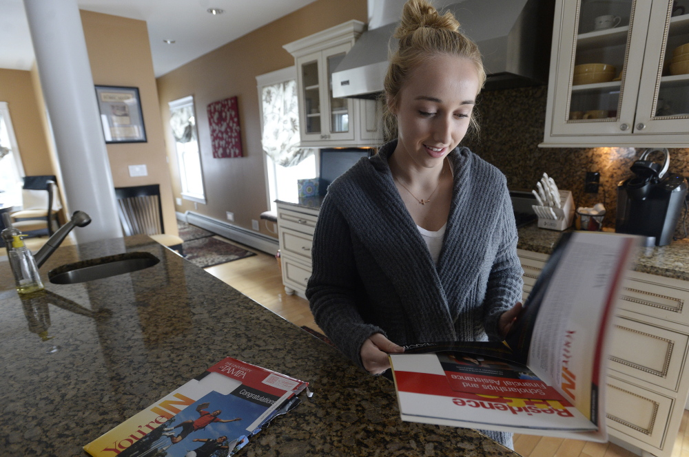 Gabriella Latini opens her acceptance letter from The University of Tampa on March 17, still unsure where she'd spend the next four years.