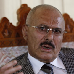 Ali Abdullah Saleh, Yemen's former president, announces a 'peace initiative' and seeks U.N.-sponsored peace talks.