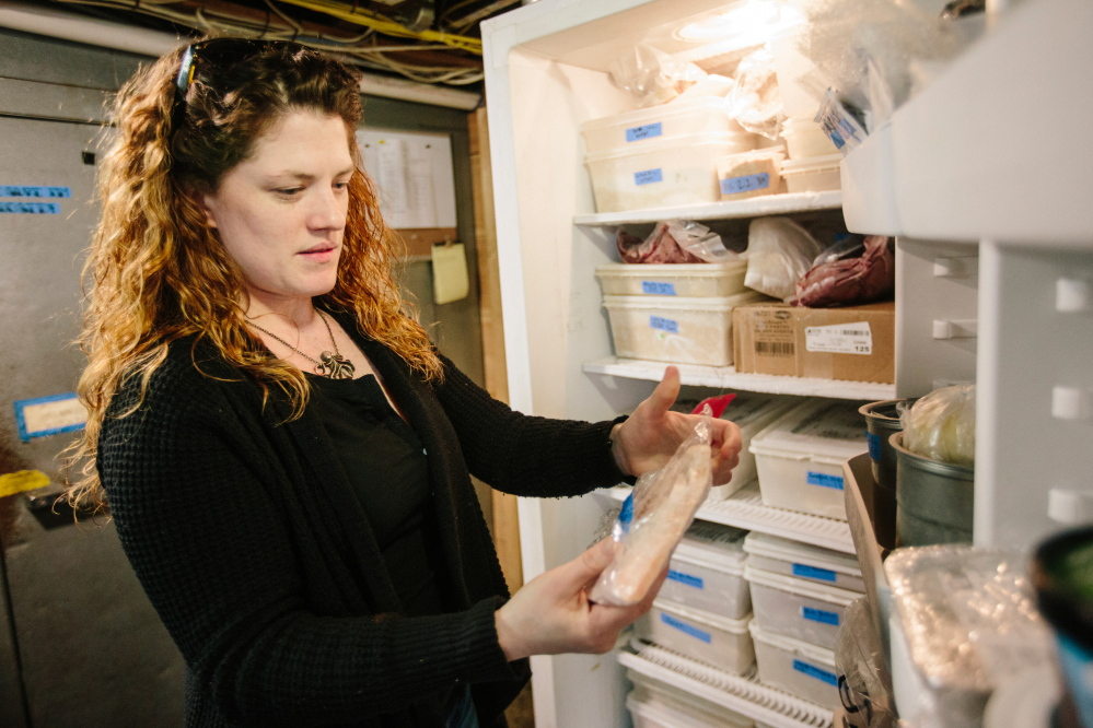 """There's some really beautiful local meat product in there that we can't use,"" says Ashley Shane, manager-owner of Duckfat restaurant on Middle Street in Portland. The meat, vacuum-sealed in a process that city health officials deem high-risk, must be tested for safety or thrown away."