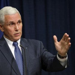 "Indiana Gov. Mike Pence says he is ""not going to change"" the new state law that's garnered widespread criticism over concerns it could foster discrimination."