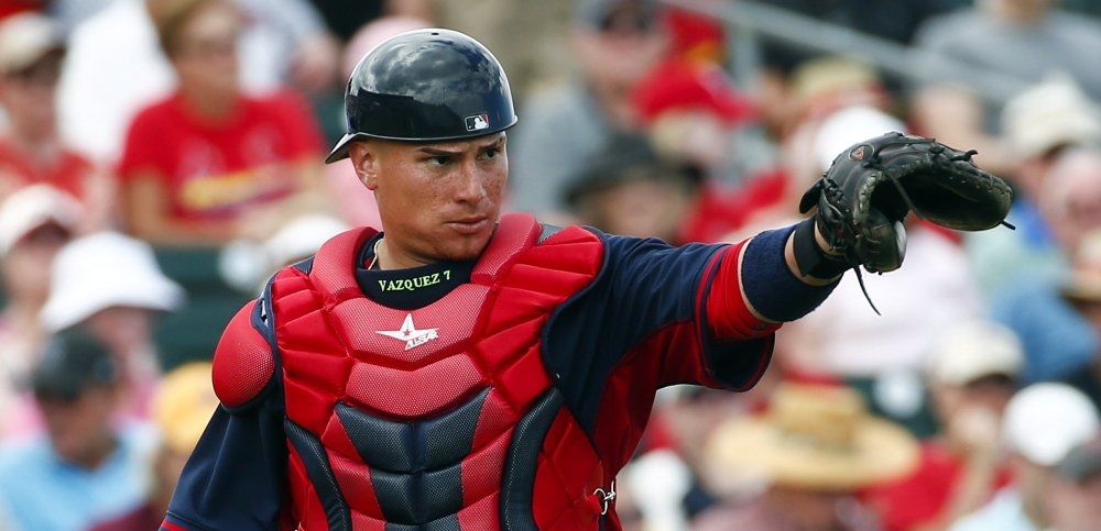Christian Vazquez was expected to be Boston's No. 1 catcher, but now the Red Sox are waiting to find out if he'll need season-ending elbow surgery.