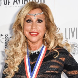 Wall Street executive Lynn Tilton attends the 12th annual Living Legends of Aviation Awards at The Beverly Hilton hotel in Los Angeles in January. The Securities and Exchange Commission has announced civil fraud charges against Tilton and her Patriarch Partners group of investment firms.