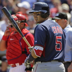 Allen Craig has the most at-bats this spring for the Boston Red Sox, and looks much better at the plate than he did last year. Craig, however, may be part of a possible trade, according to a recent ESPN report.