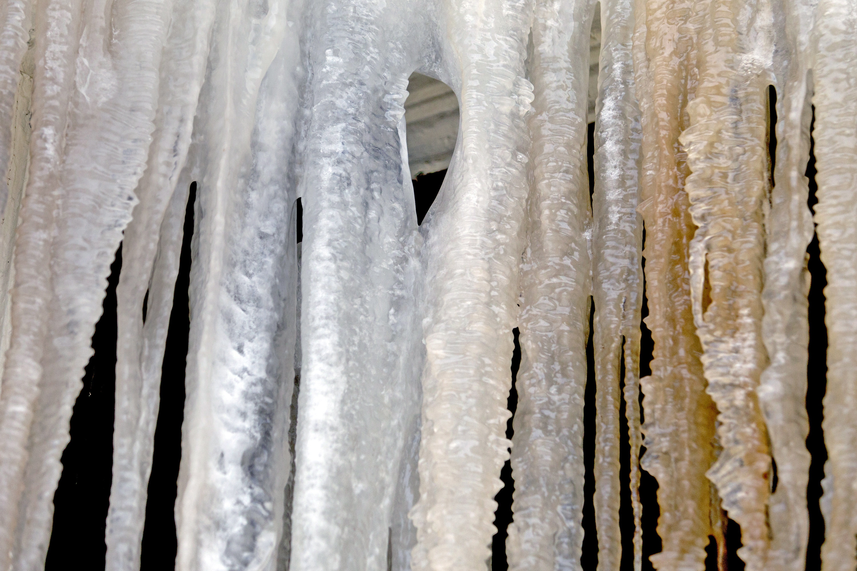 Icicles Punctuate A Long Long Winter Press Herald