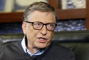 Microsoft co-founder and Berkshire Hathaway board member Bill Gates. The Associated Press