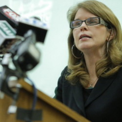 Health and Human Services Commissioner Mary Mayhew said it's possible that some people who are no longer receiving food stamps have found jobs and so are no longer eligible for the program.