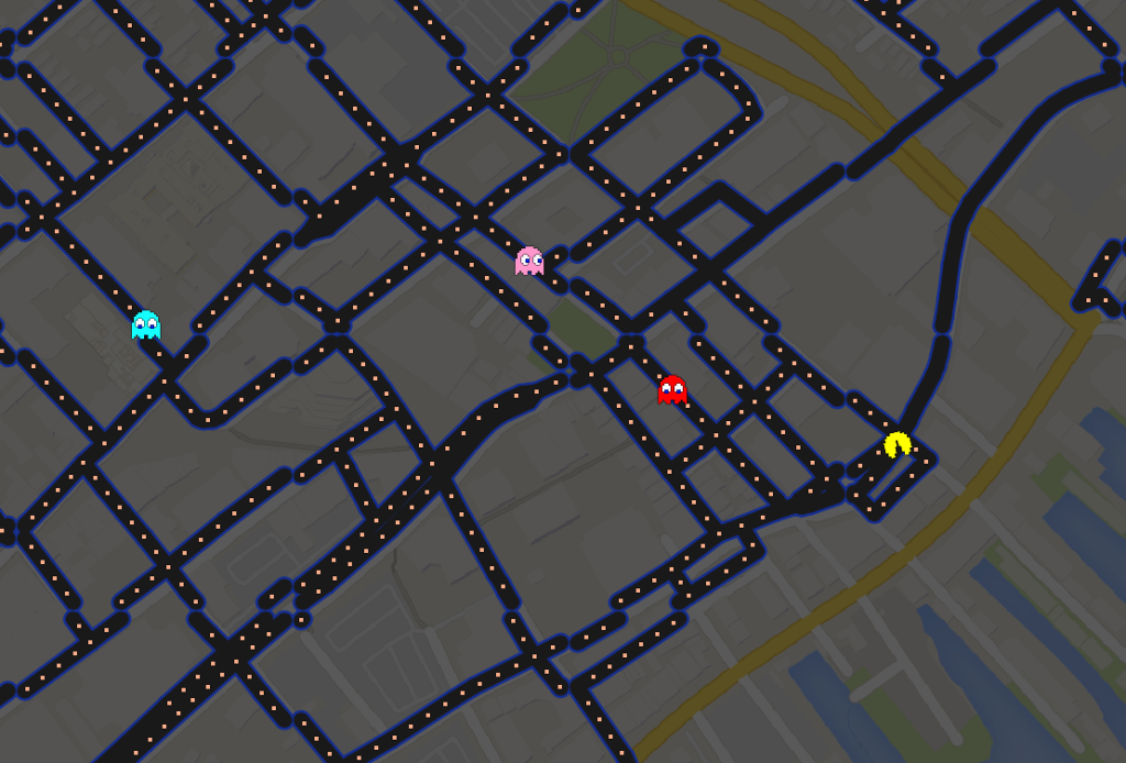 Play it now: Google Maps celebrates the beloved Pac-Man - Portland ...