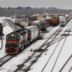 As many as 100 railcars loaded with liquid propane pass through Rigby Yard daily with little local security or oversight, says South Portland Fire Chief Kevin Guimond. NGL Supply Terminal Co. is now proposing to build a storage and distribution facility at Rigby Yard.