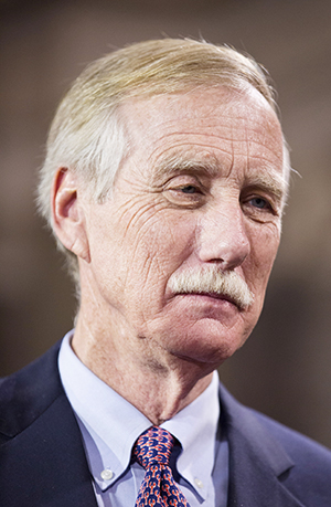 Sen. Angus King says the strategic significance of the Arctic will only grow more important as climate changes and Arctic ice recedes.