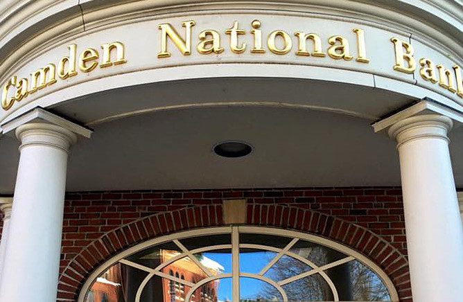 Camden National Bank gets tax cut, and its employees get bonuses