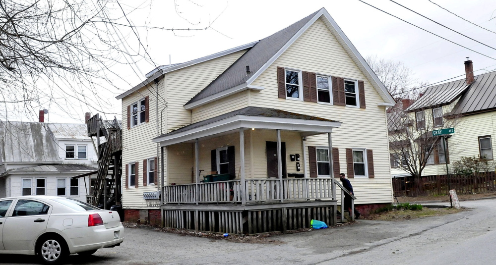 A man was left in critical condition after being stabbed after an altercation began in  an apartment at 18 Gray Street in Waterville and spilled out into the street late Sunday night.