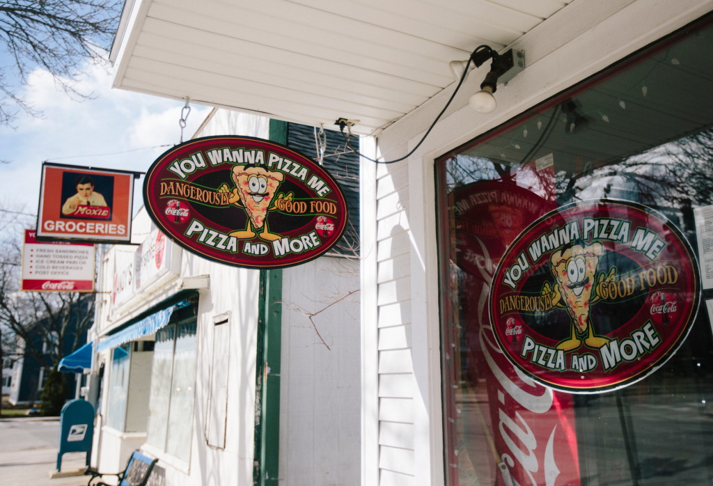 You Wanna Pizza Me is located next door to the building that Otto Pizza will occupy in Yarmouth.